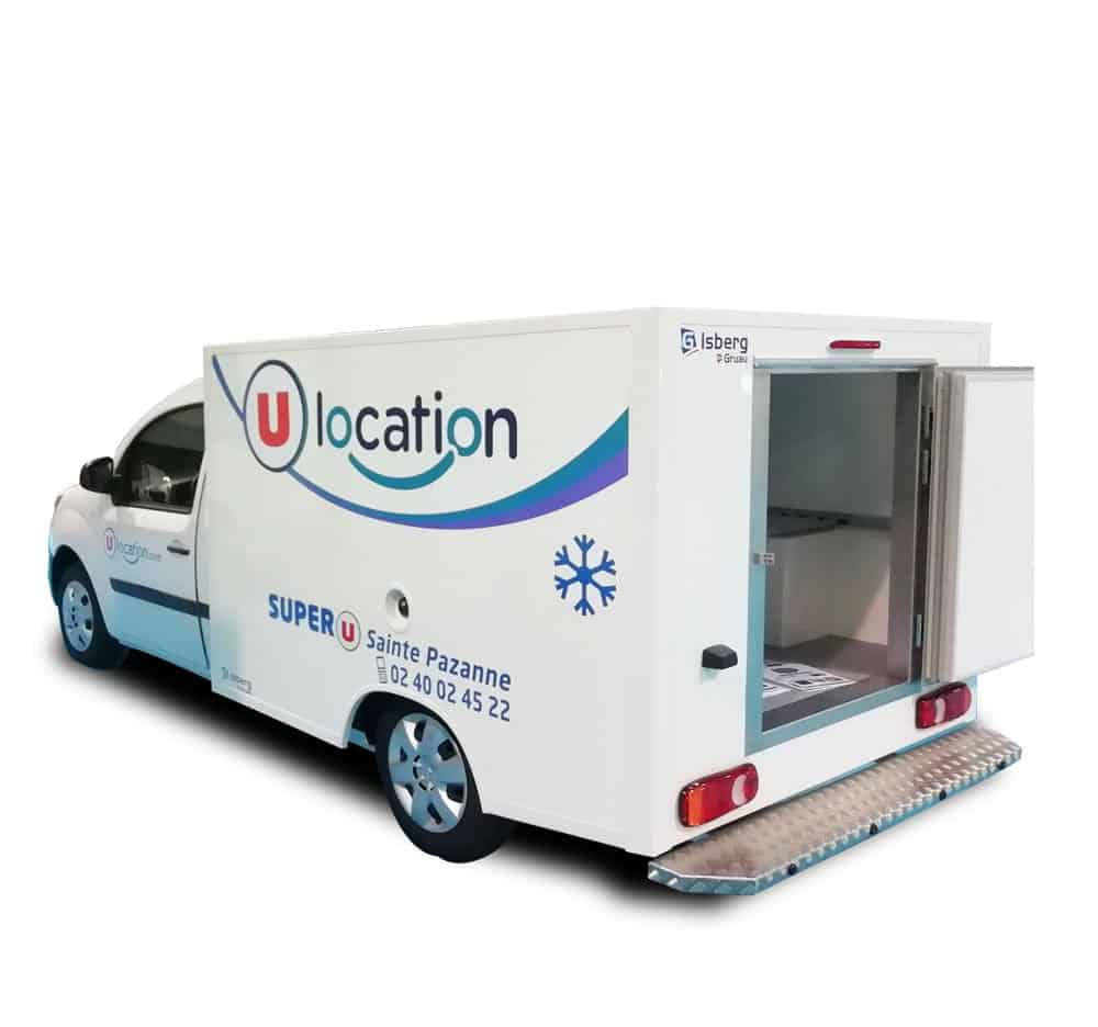 location camion refrigere
