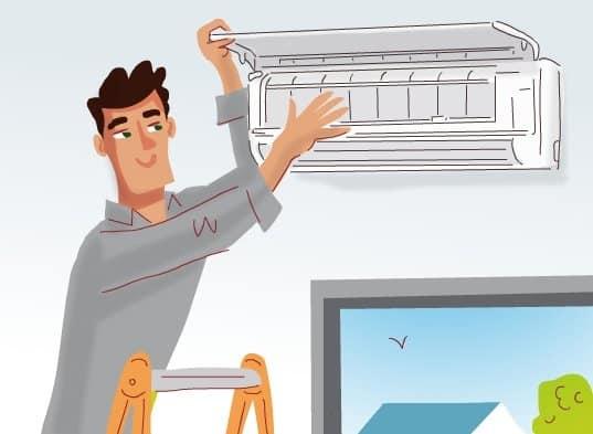 métier frigoriste climatiseur