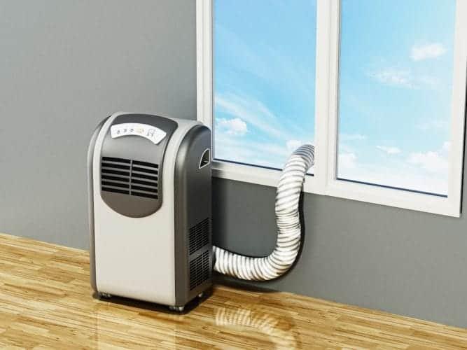 Le mini climatiseur portable