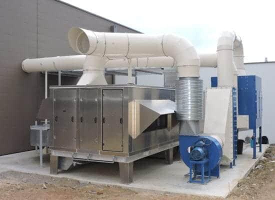 centrale de traitement d'air exemple