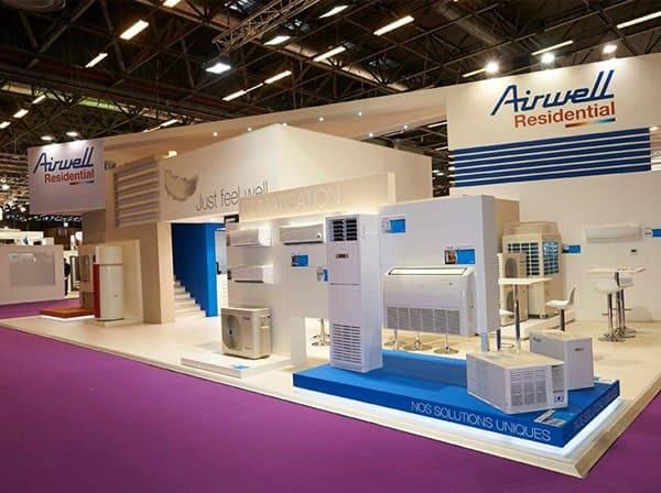Airwell fabricants français de climatiseurs