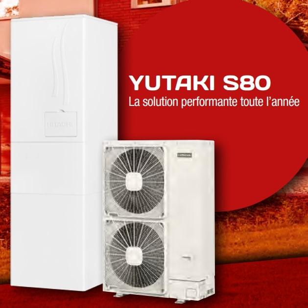 Climatiseur Hitachi multizone Yutaki