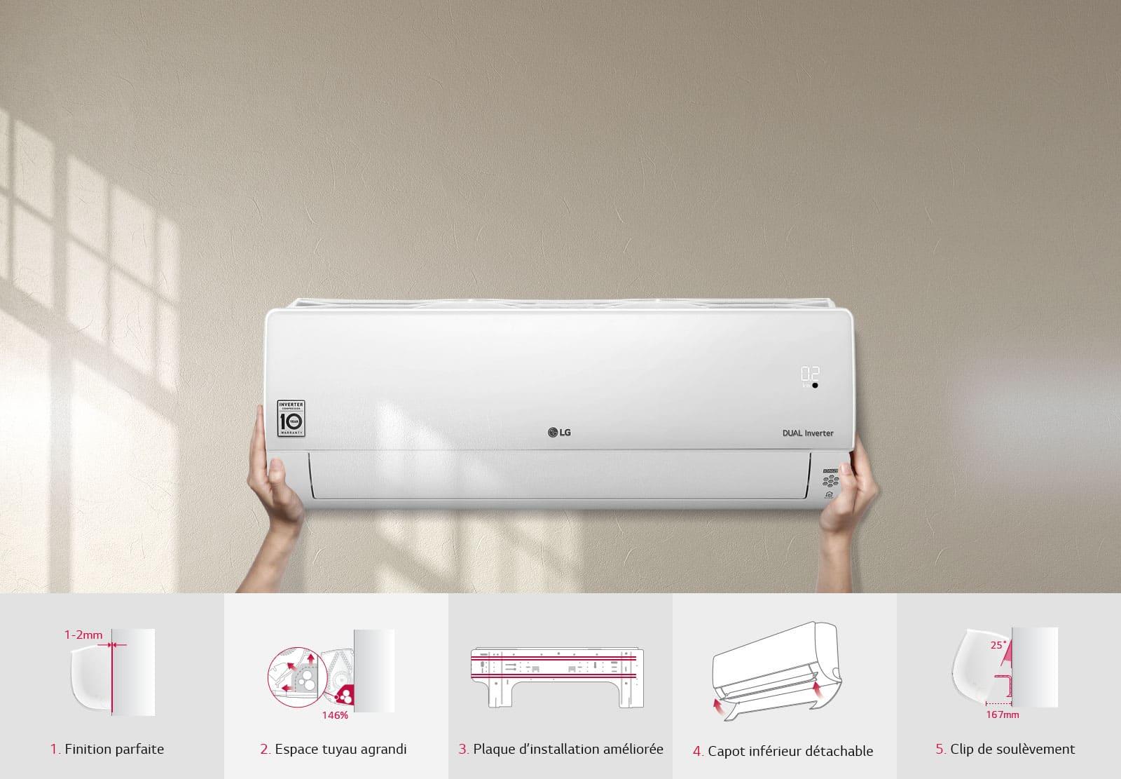 avis climatiseurs LG