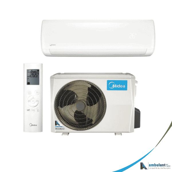 Climatiseur Midea Neola + monosplit 5 kW